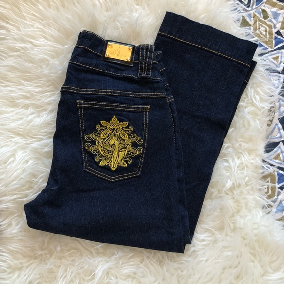 Baby Phat Denim - Baby Phat cropped jeans size 14